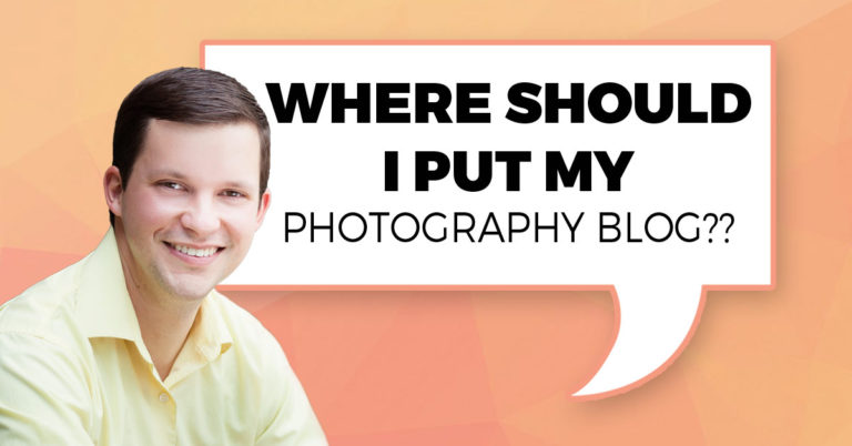 Where Should I Put My Photography Blog?
