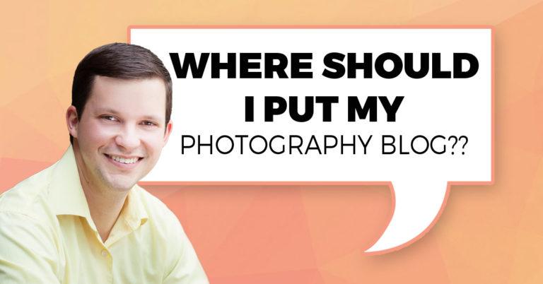 Where Should I Put My Photography Blog?