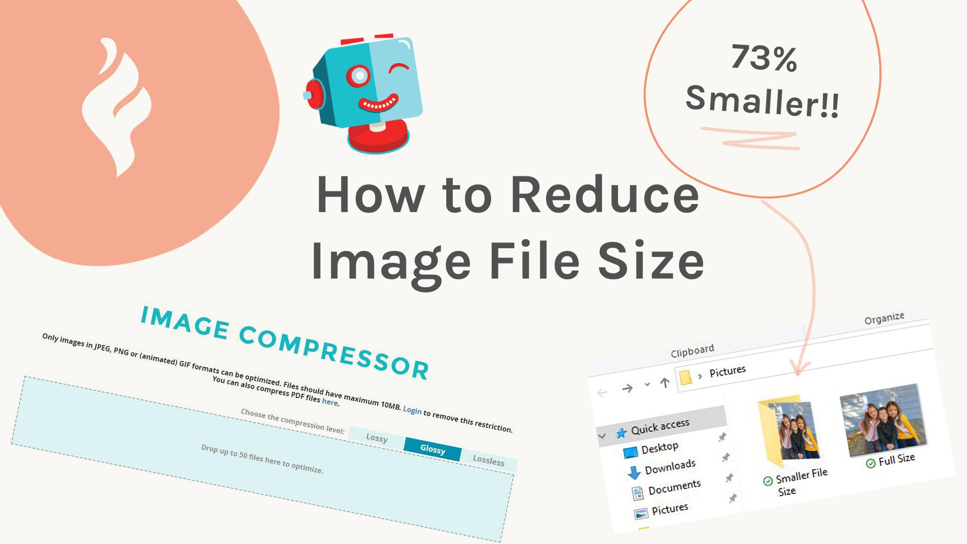 how to make a pic smaller in file size